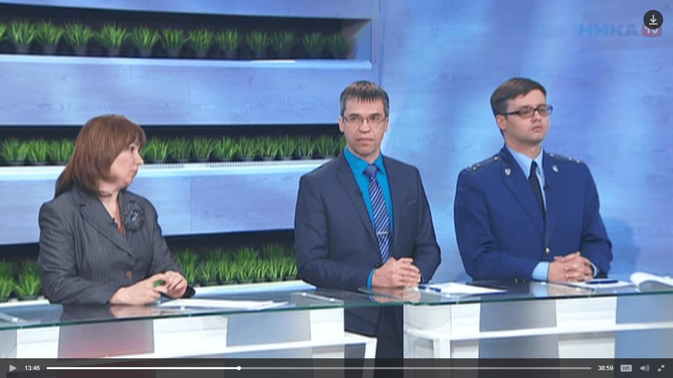 Ольга Абраменко приняла участие в передачи Главное на канале НИКА ТВ